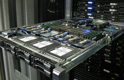 Серверное оборудование на тест